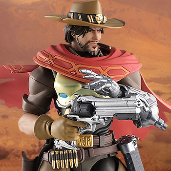 McCree Figma Collectible Figure