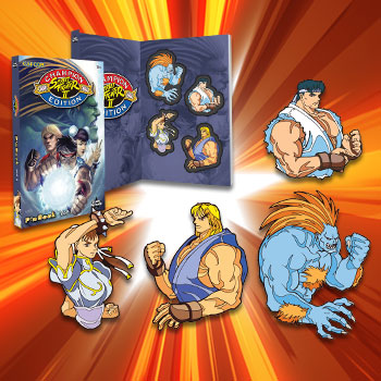 Street Fighter Vol. 3 Pinbook Collectible Pin