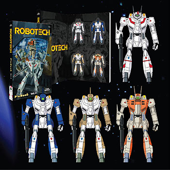 Robotech Vol. 4 Pinbook Collectible Pin
