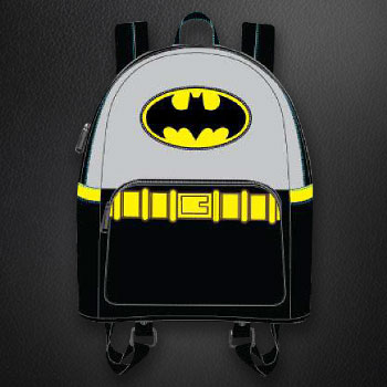 Vintage Batman Cosplay Mini Backpack Apparel