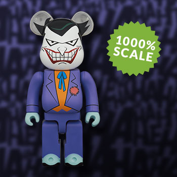 Be@rbrick Joker (Batman the Animated Series Version) 1000% Collectible Figure