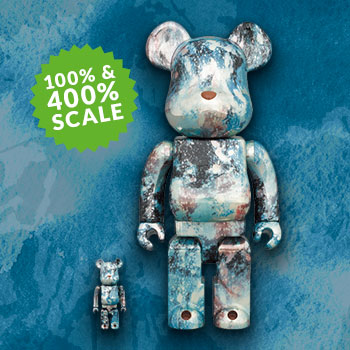 Be@rbrick Pushhead #5 100% and 400% Collectible Set