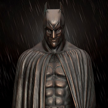 The Dark Knight Memorial Statue