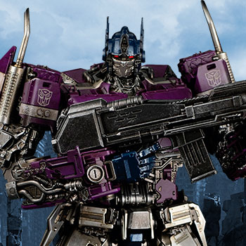 Shattered Glass Optimus Prime Collectible Figure