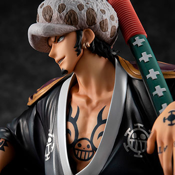 Portrait of Pirates Warriors Alliance Trafalgar Law Collectible Figure