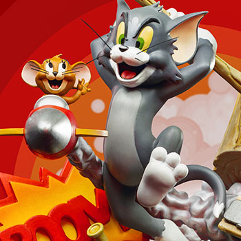 Tom & Jerry Statue