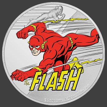 The Flash 1oz Silver Coin Silver Collectible