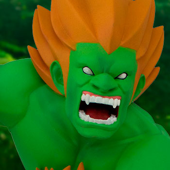 Blanka Unleashed Figure