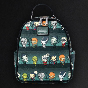 Universal Monsters Chibi Backpack Apparel