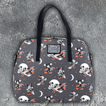 Mickey and Minnie Halloween AOP Crossbody Apparel