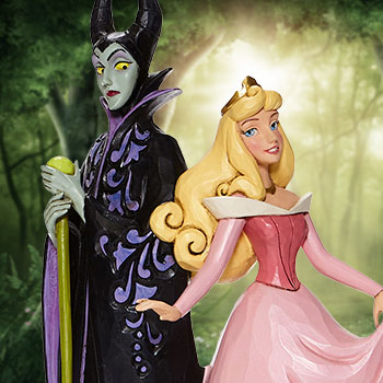 Aurora & Maleficent Figurine