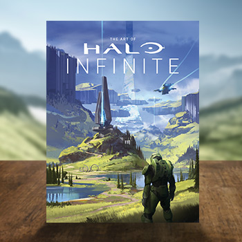 The Art of Halo Infinite (Limited Edition) Book