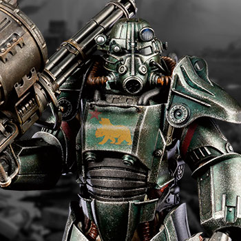 T-45 NCR Salvaged Power Armor Sixth Scale Figure