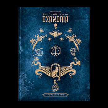 Critical Role: The Chronicles of Exandria - The Mighty Nein Deluxe Edition Book