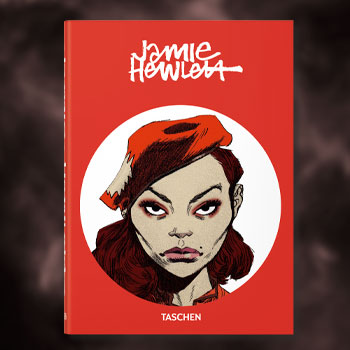 Jamie Hewlett – 40th Anniversary Edition Book