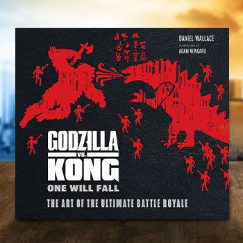 Godzilla vs Kong: One Will Fall: The Art of the Ultimate Battle Royal Book