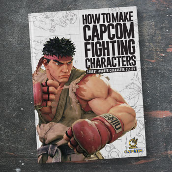 How to Make Capcom Fighting Characters: Street Fighter Character Design Book