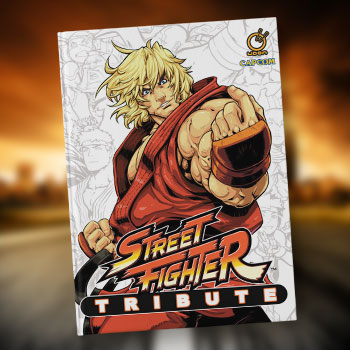 Street Fighter Tribute Book