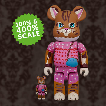 Be@rbrick Nathalie Lété Minette 100% & 400% Collectible Set