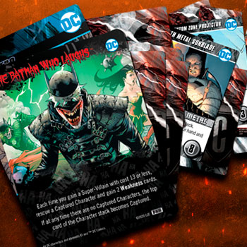 DC Deck Building Game: Dark Nights: Metal Playing Cards
