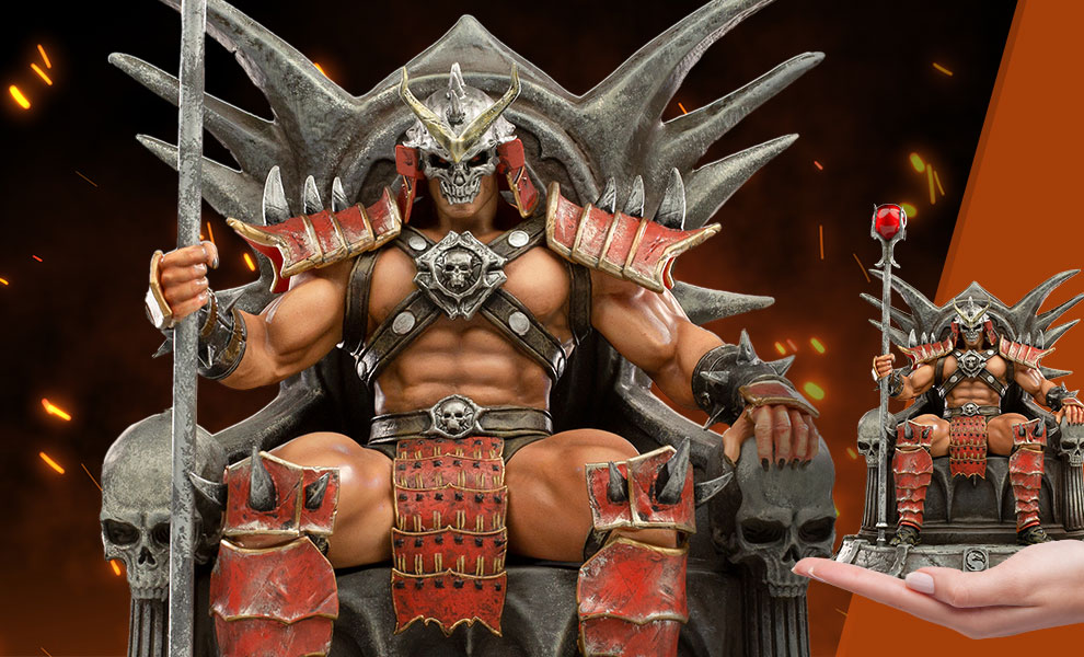 Shao Kahn Deluxe 1:10 Scale Statue