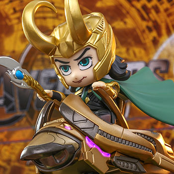 Loki (With Scepter Version) Collectible Figure