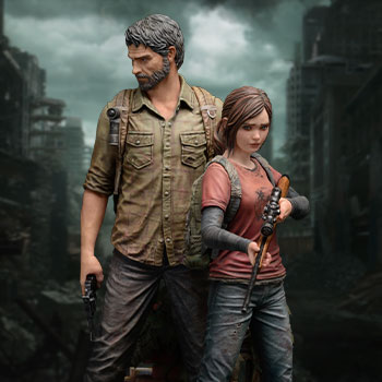 Joel and Ellie Collectible Figure