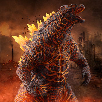 Godzilla (2019) Burning Version Collectible Figure