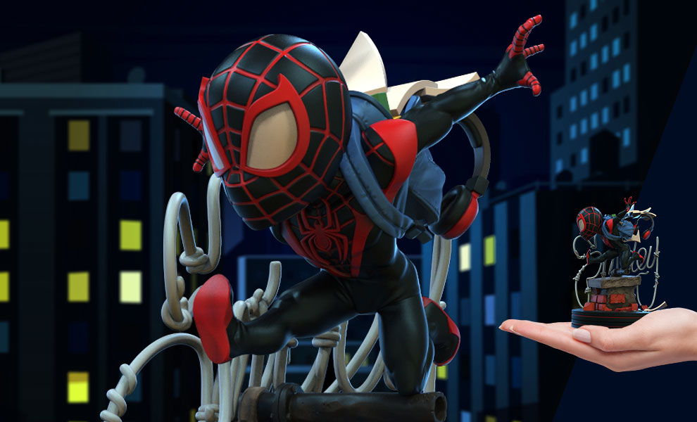 Spider-Man Miles Morales Q-Fig Collectible Figure