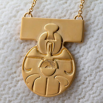 Medal of Yavin Necklace Jewelry