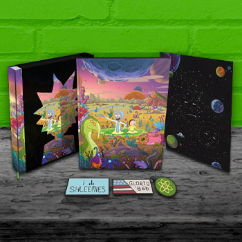 The Art of Rick and Morty Volume 2 (Deluxe Edition) Book