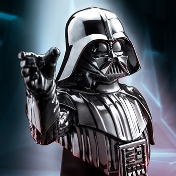 Darth Vader (Pewter) Bust Pewter Collectible