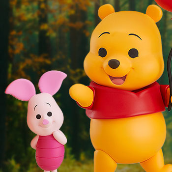 Winnie the Pooh and Piglet Nendoroid Collectible Figure