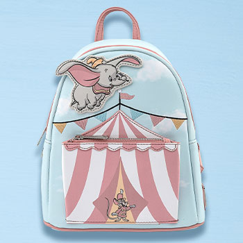 Dumbo Flying Circus Tent Mini Backpack Apparel
