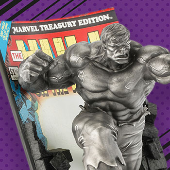 The Hulk Classic Cover (Satin) Pewter Collectible