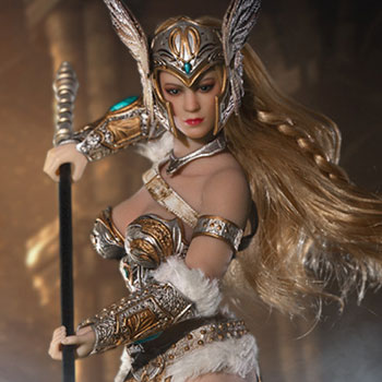 Tariah the Valkyrie (Silver) Action Figure