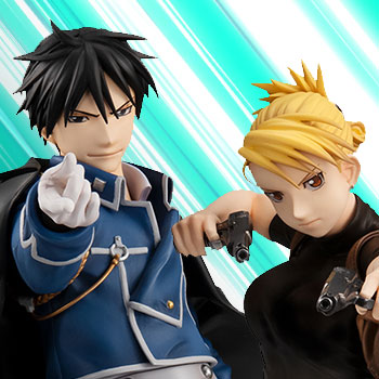 Precious G.E.M Roy Mustang & Riza Hawkeye Collectible Set