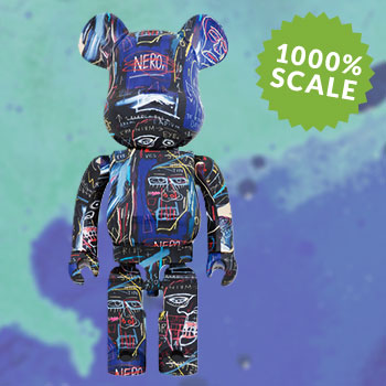 Be@rbrick Jean Michel Basquiat #7 1000% Collectible Figure