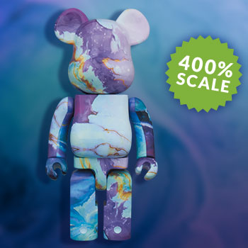 Be@rbrick Marbel 400% Collectible Figure