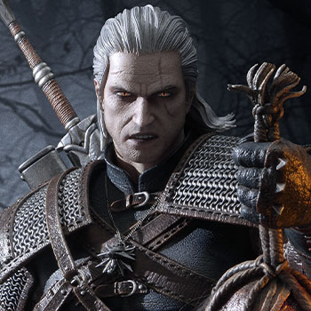 Geralt of Rivia (Deluxe Version) Statue