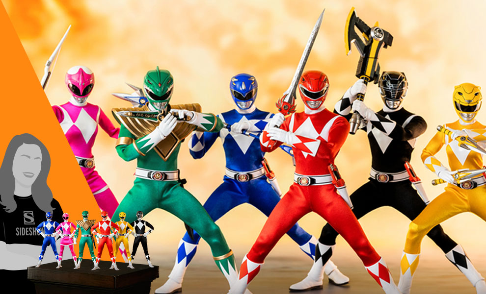 Core Rangers + Green Ranger Six Pack Collectible Set