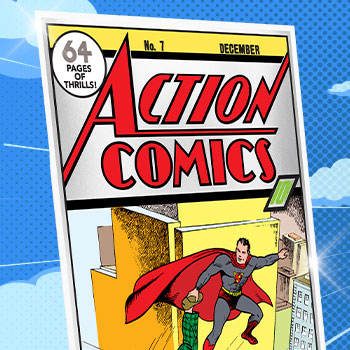 Action Comics #7 Silver Foil Silver Collectible