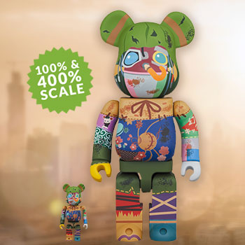Be@rbrick Poupelle 100% & 400% Collectible Figure