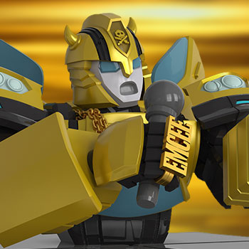 Transformers x Quiccs: Bumblebee Bust