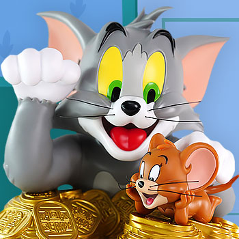 Tom And Jerry Maneki-Neko (Classic Version) Bust