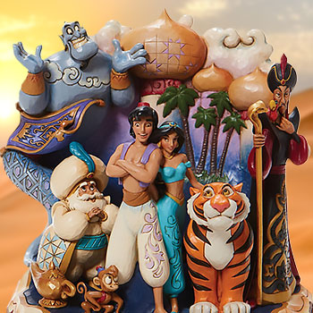 Carved by Heart Aladdin Polyresin Figure