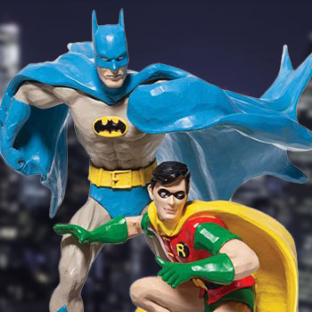 Batman & Robin Figurine
