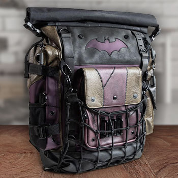 Batman & Joker Roll-top Backpack Apparel