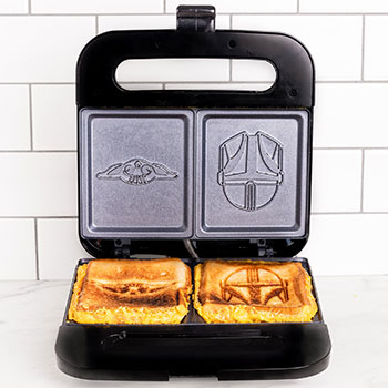 The Mandalorian Grilled Cheese Maker Kitchenware