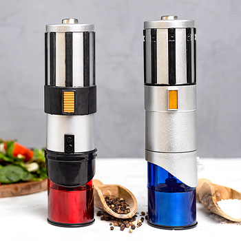 Lightsaber Electric Salt & Pepper Mill Grinder Kitchenware